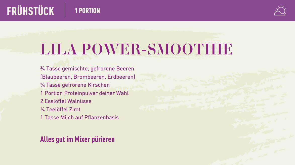 purple recipe