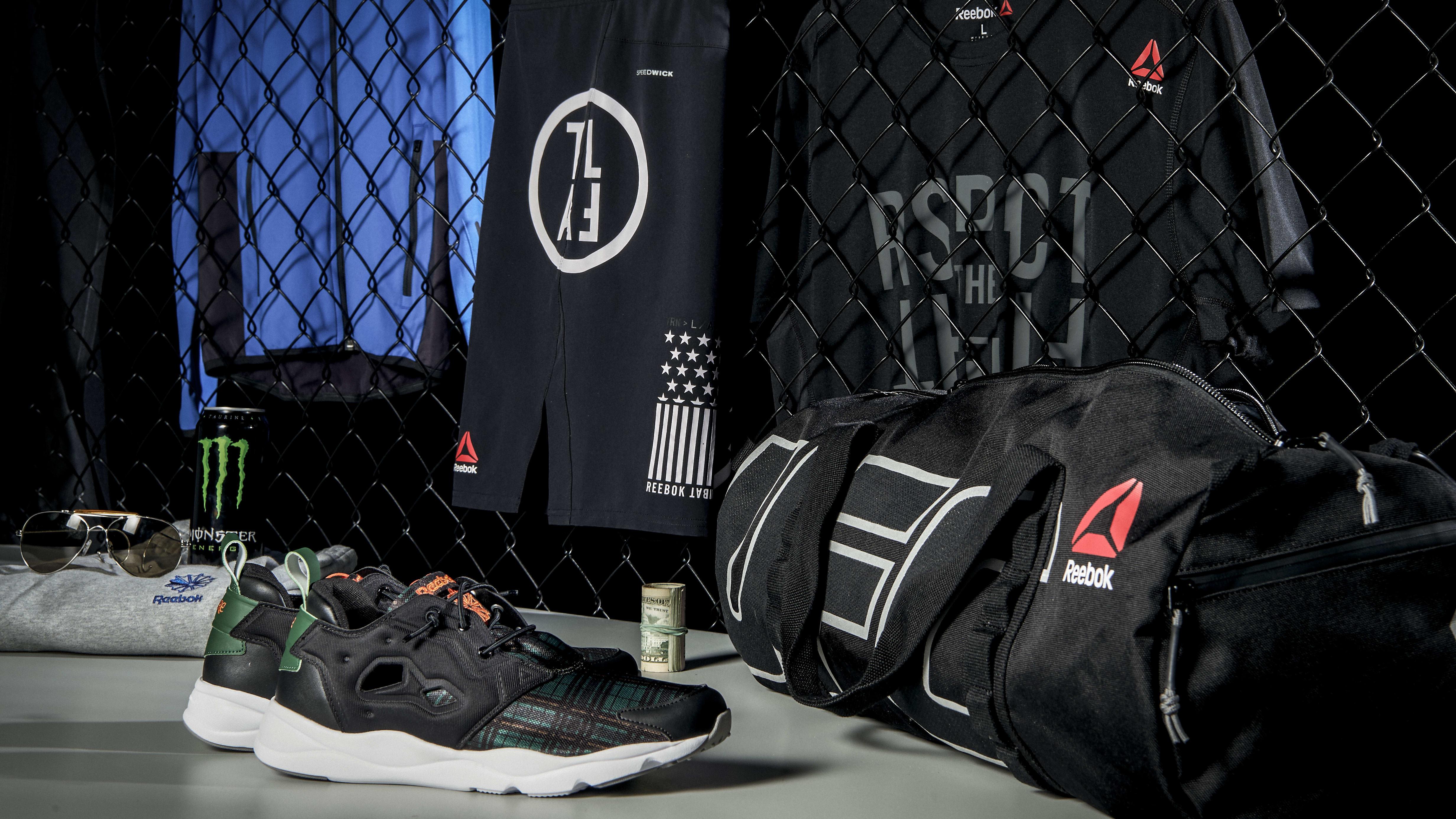 Conor McGregor's Gym Bag Essentials