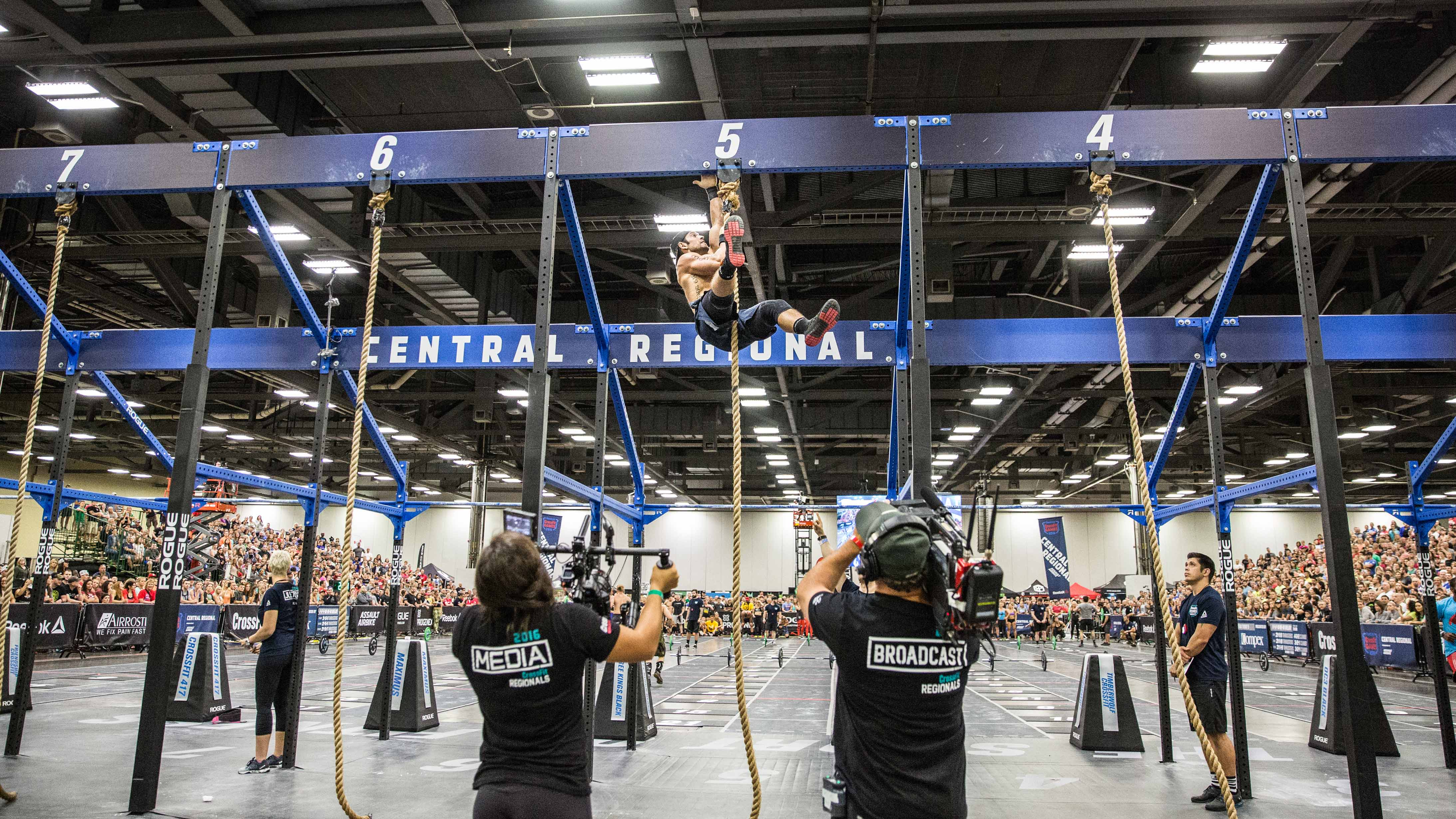 Rich Froning Rope Climbing