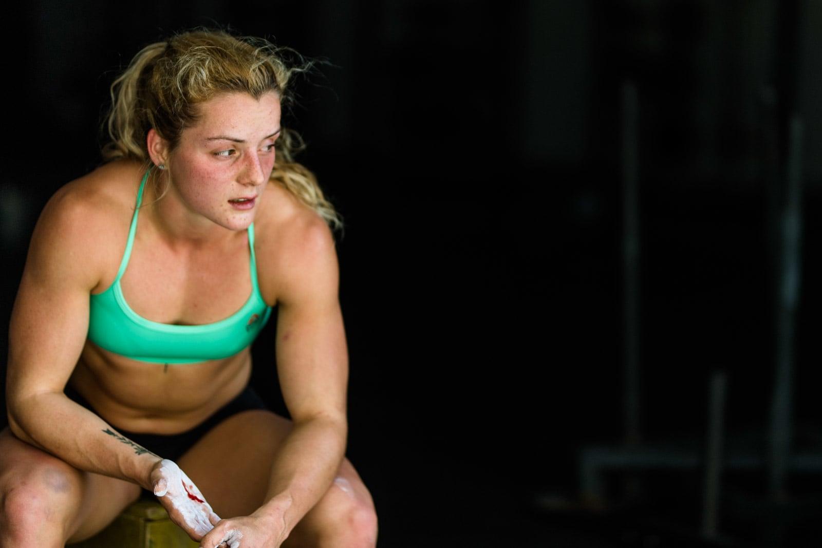 Maddie Sturt. CrossFit Athlete.