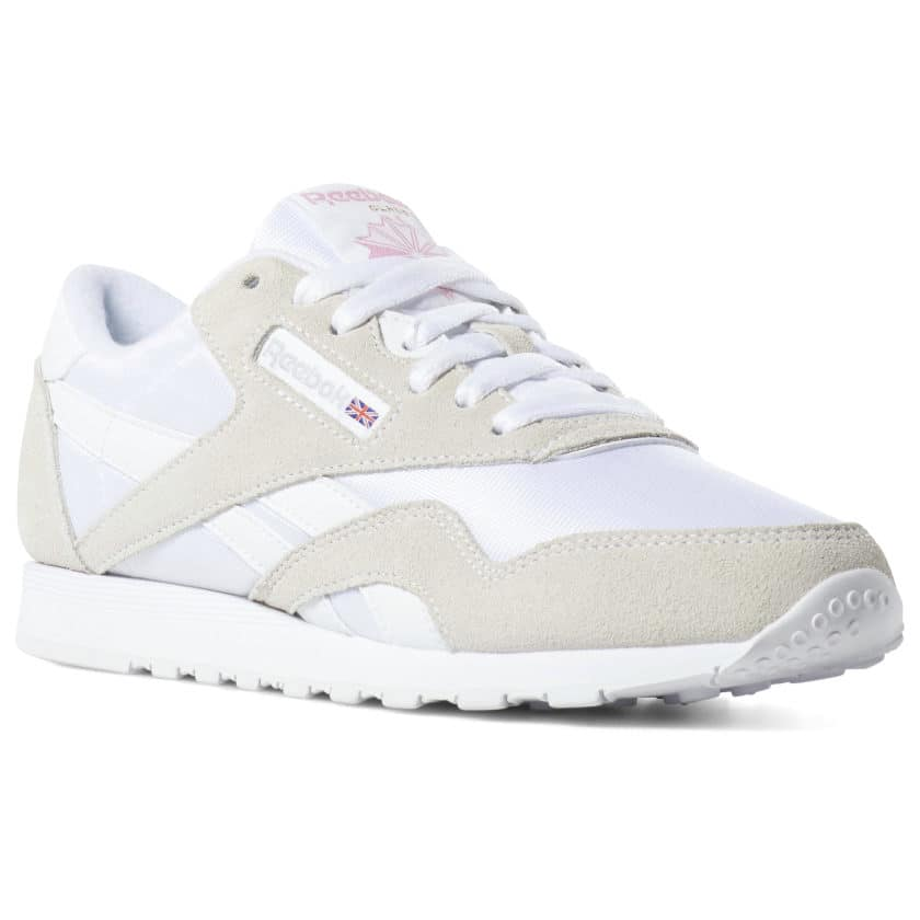 white-sneakers-for-women-classic-nylon