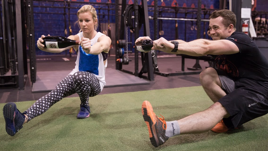 wine wednesday crossfit pistols