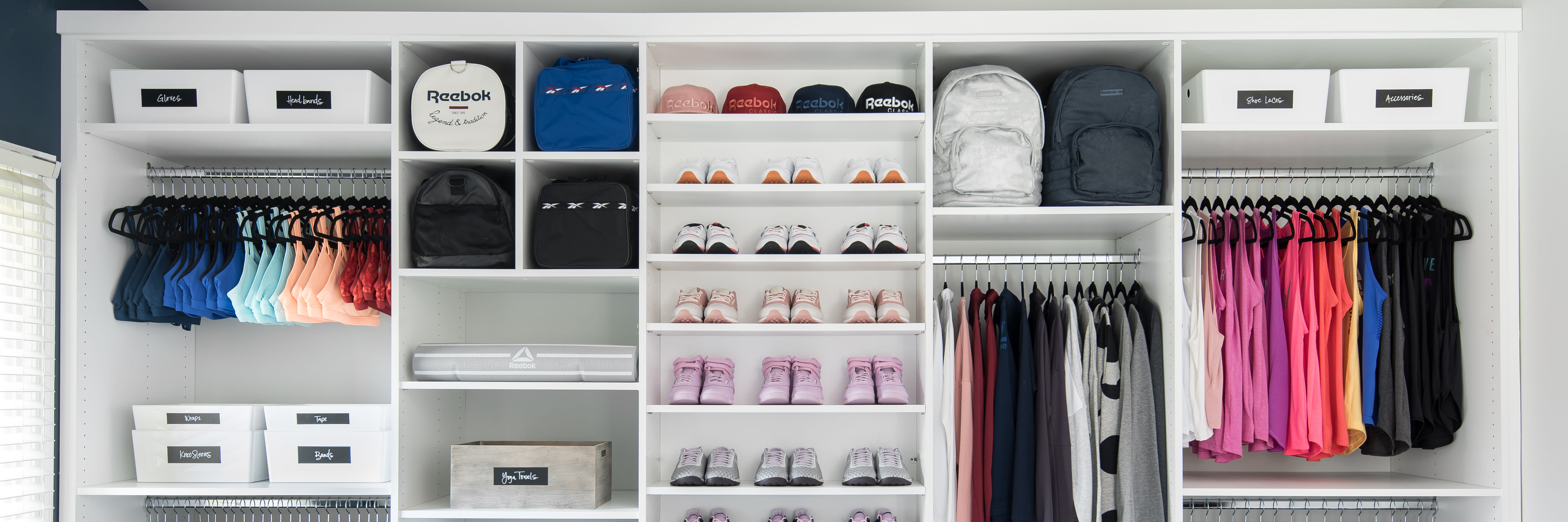 642597a14ec6 This Advice Will Keep Your Workout Wardrobe Organized
