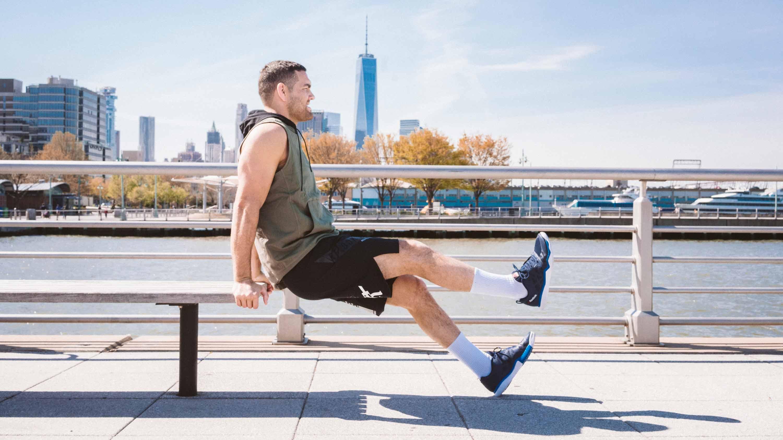 Chris Weidman bench dips