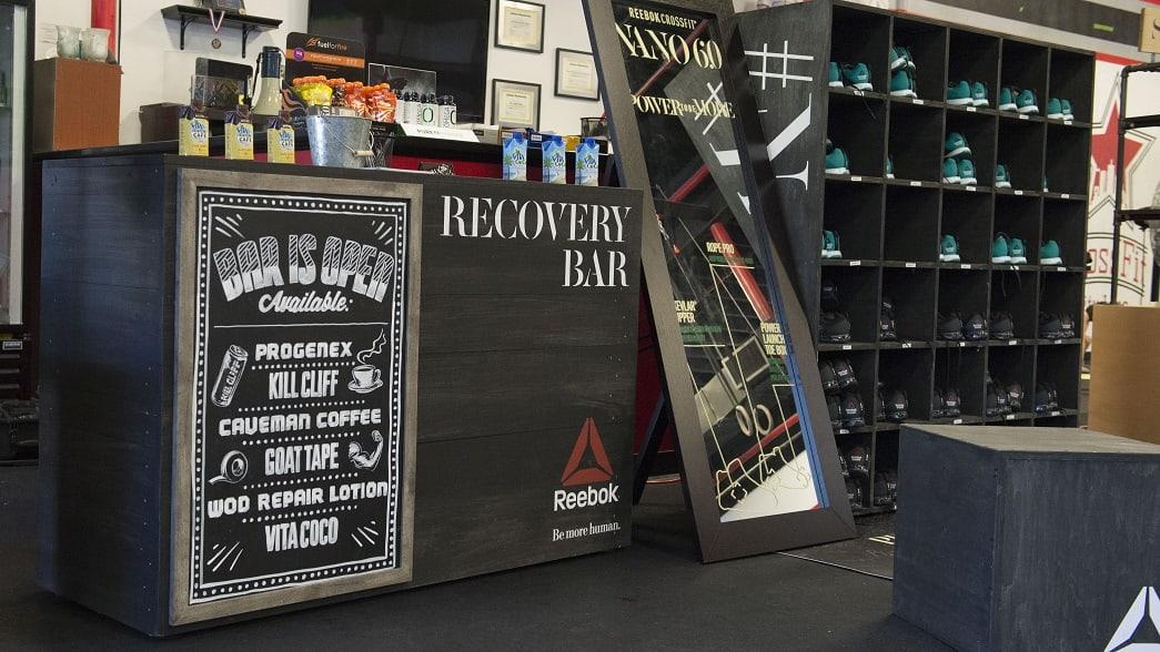 box crawl recovery bar