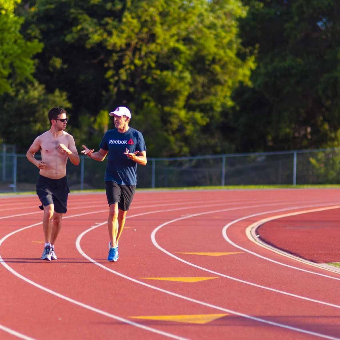 Chris Hinshaw Running