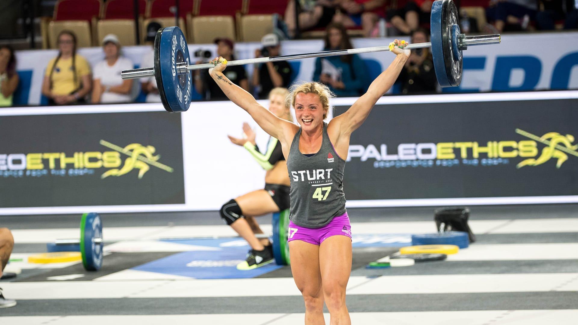 Maddie Sturt. Reebok CrossFit Athlete.
