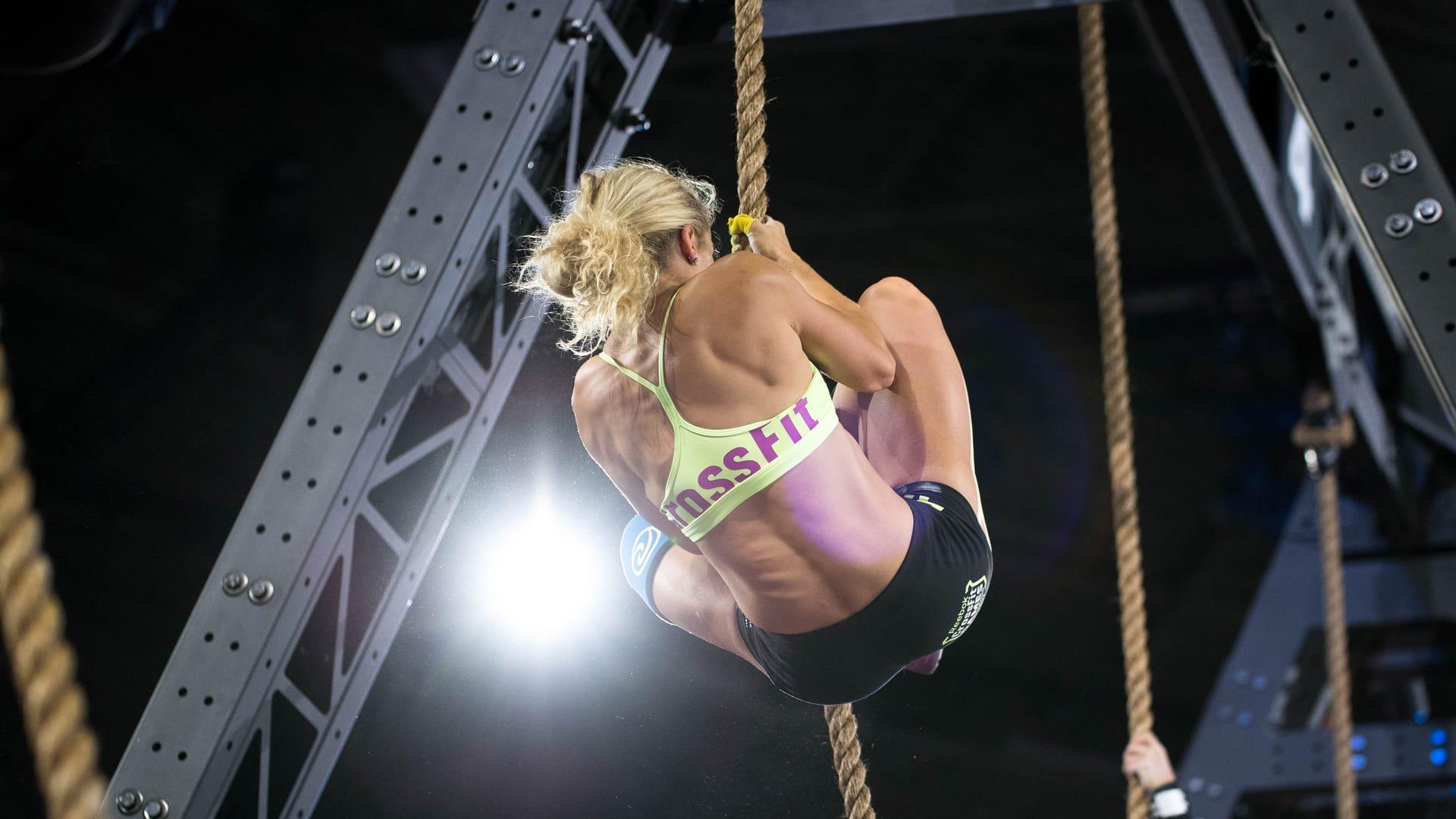 Maddie Sturt, CrossFit Games 2017.