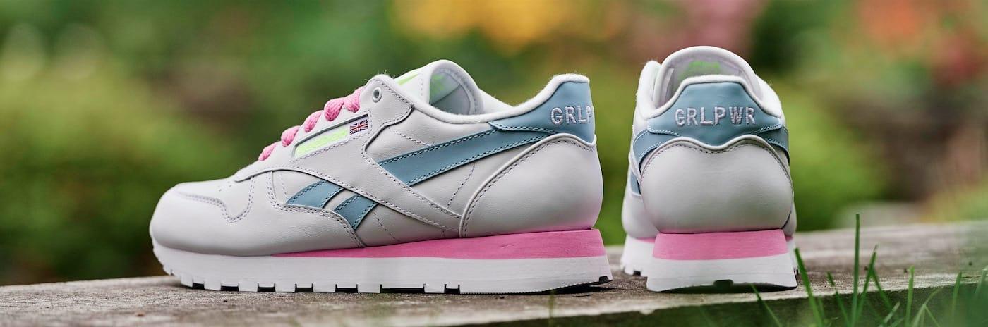 """27a1e71a7d8062 Aly Raisman Designs Custom """"Girl Power"""" Sneakers"""