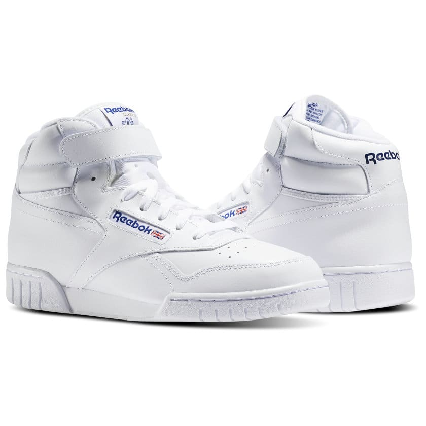 BRAND NEW REEBOK EX-O-FIT HI WHITE IN BOX NEVER WORN