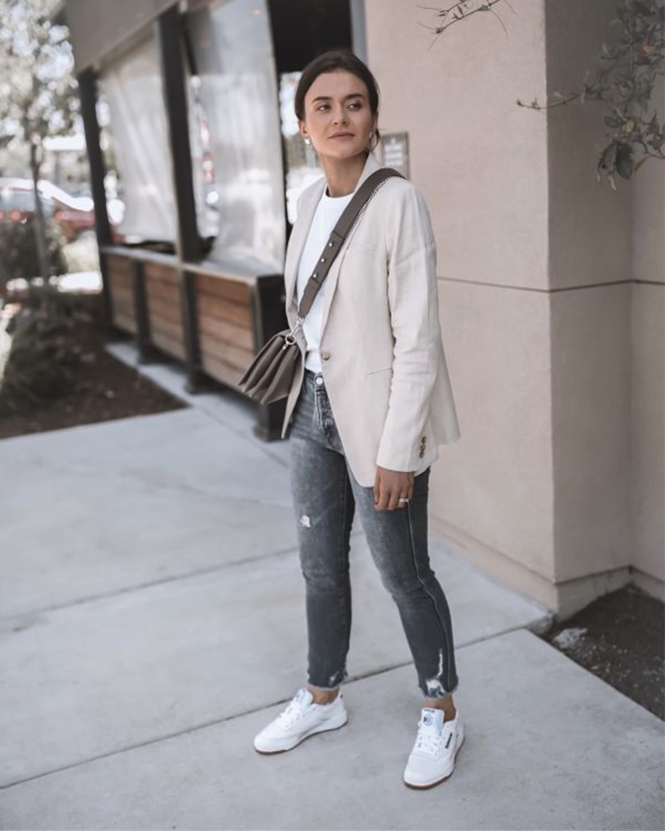 How to Style Your White Sneakers for Fall