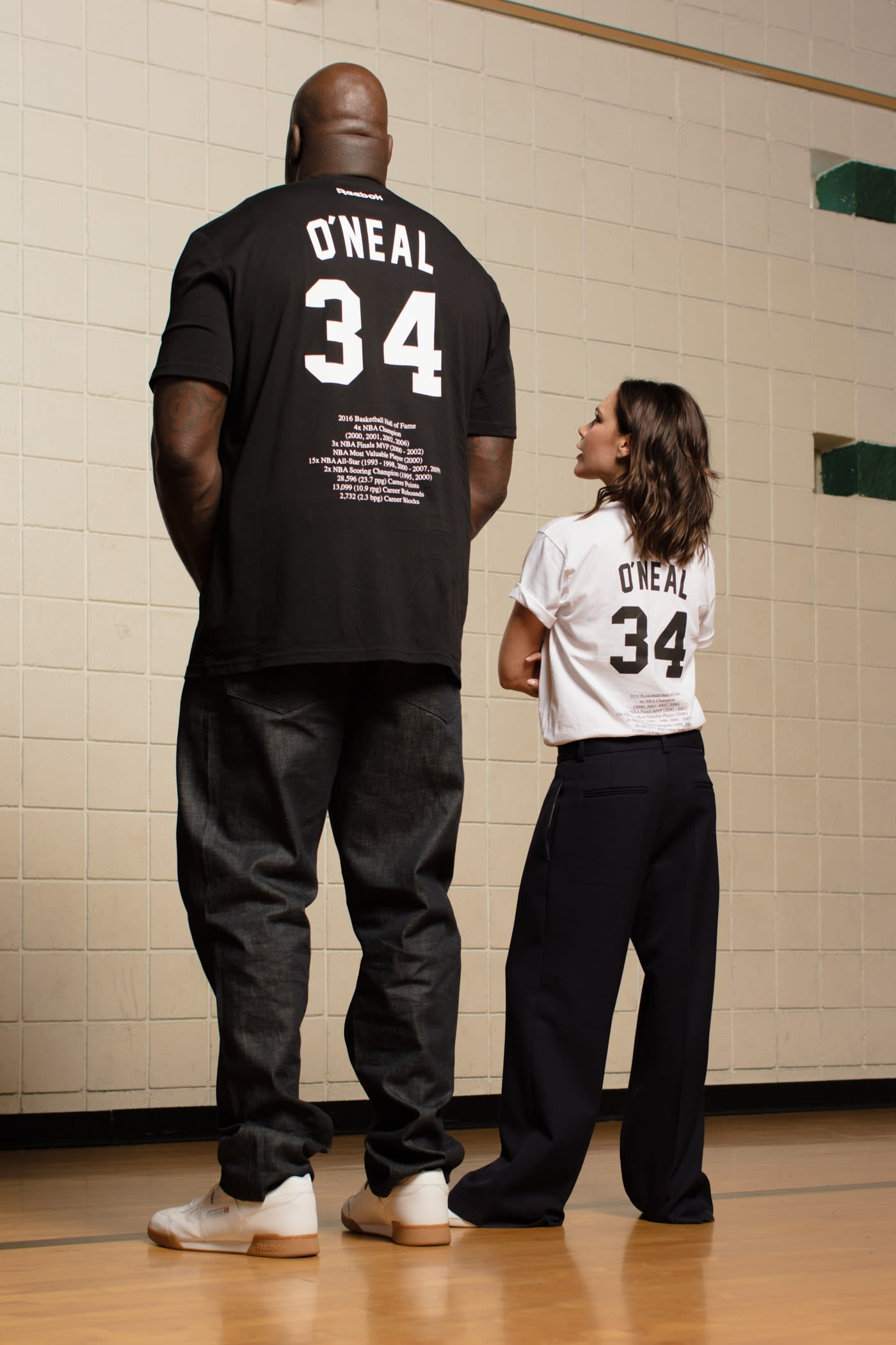 38183375e7e Victoria Beckham Is Inspired By The  90s (And Shaq!) For Her ...