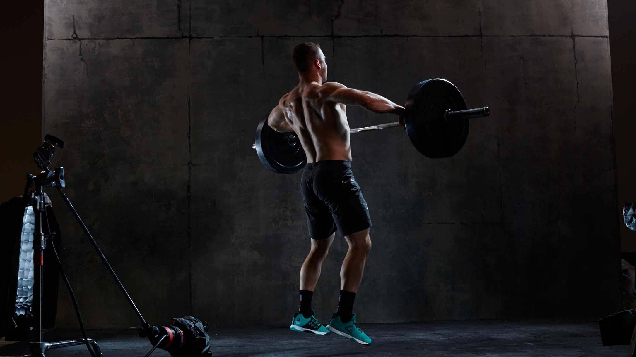 Ben Smith CrossFit Jerk