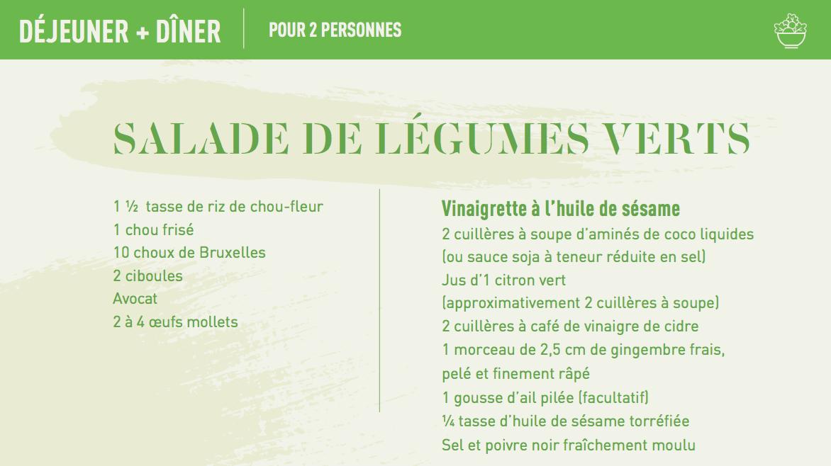 green recipe