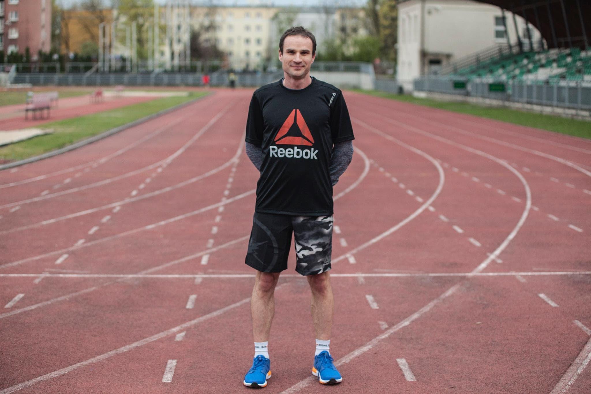 Artur Jabłoński Reebok Run Crew