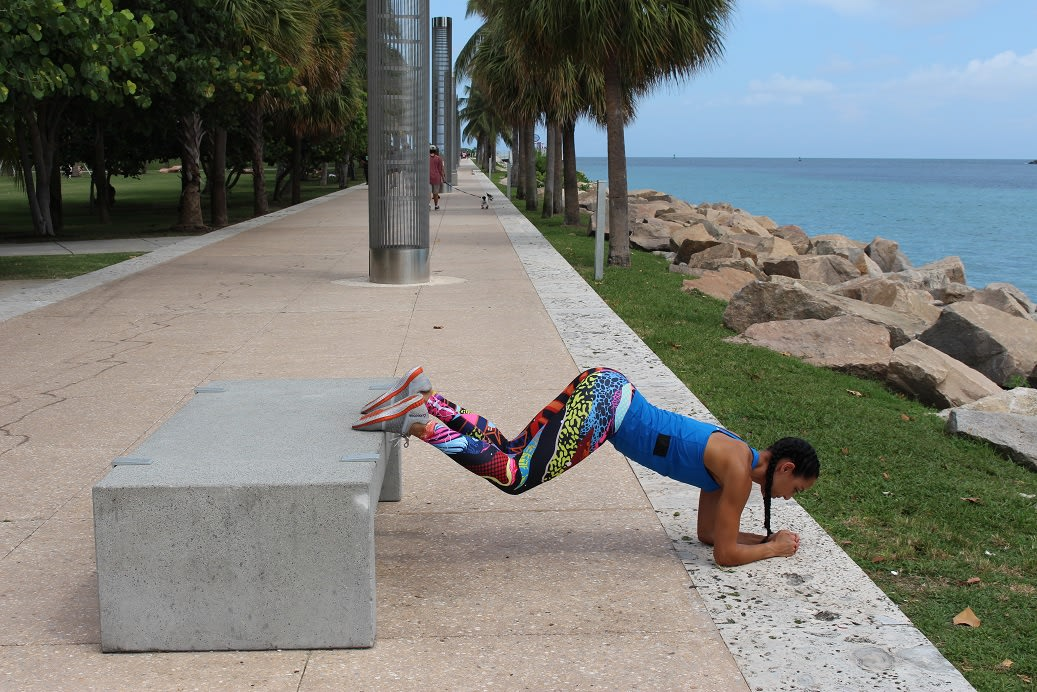 farwell summer elevated plank