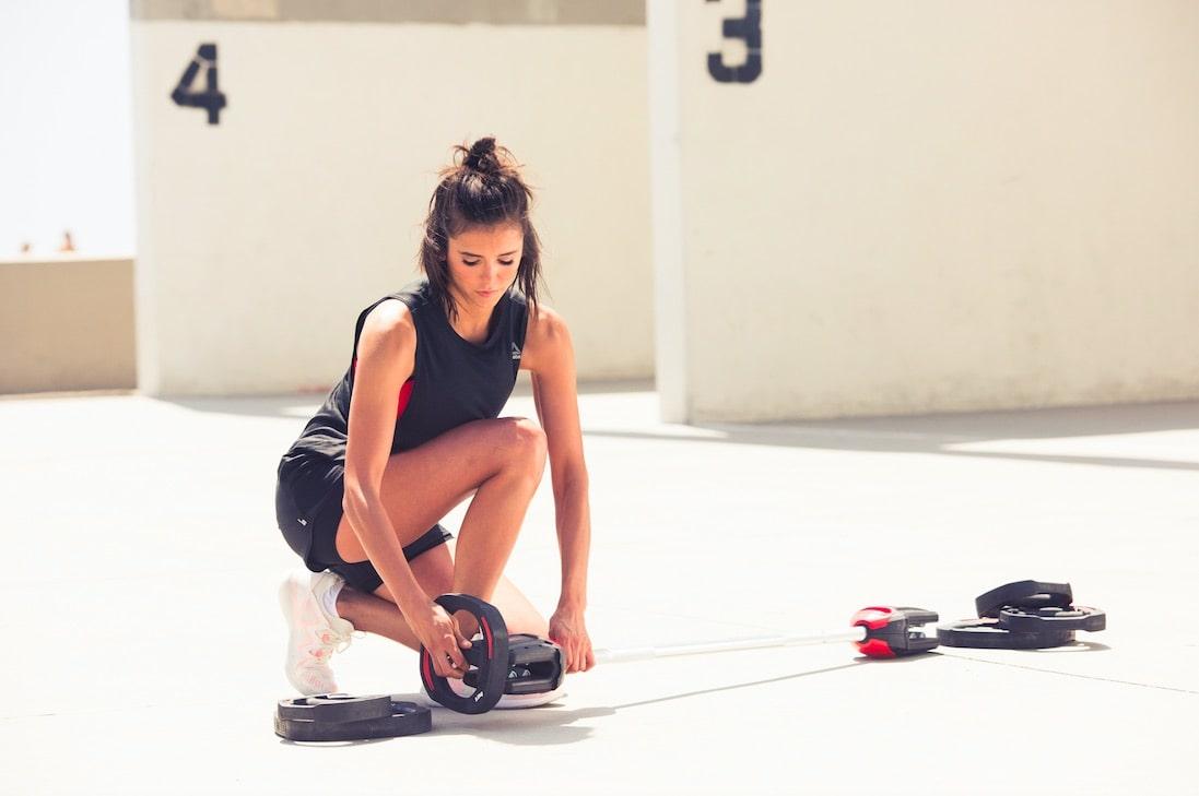 O czym myśli Nina Dobrev podczas treningu Les Mills GRIT?