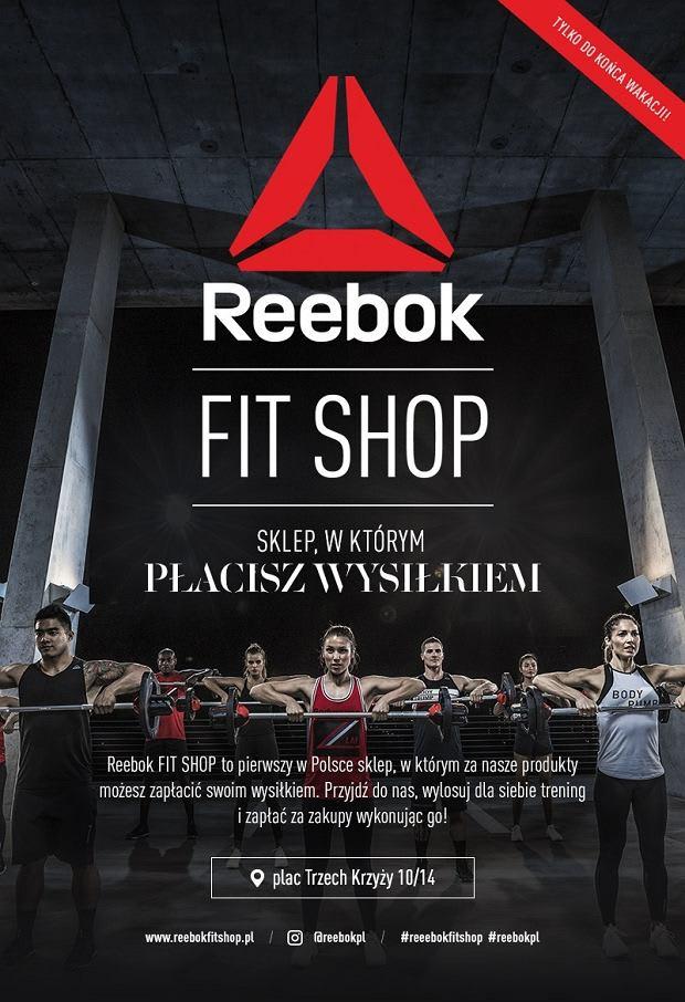 Plakat Reebok Fit Shop