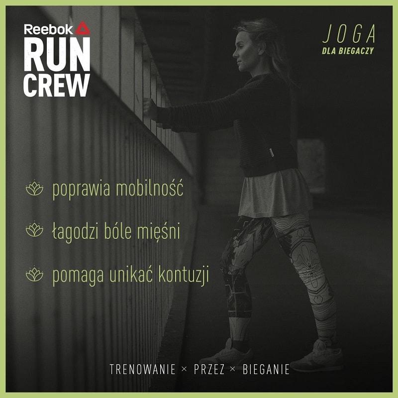 Reebok Run Crew: joga dla biegaczy
