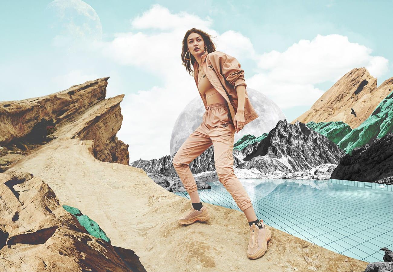 Gigi Hadid's New Reebok Collection is Here
