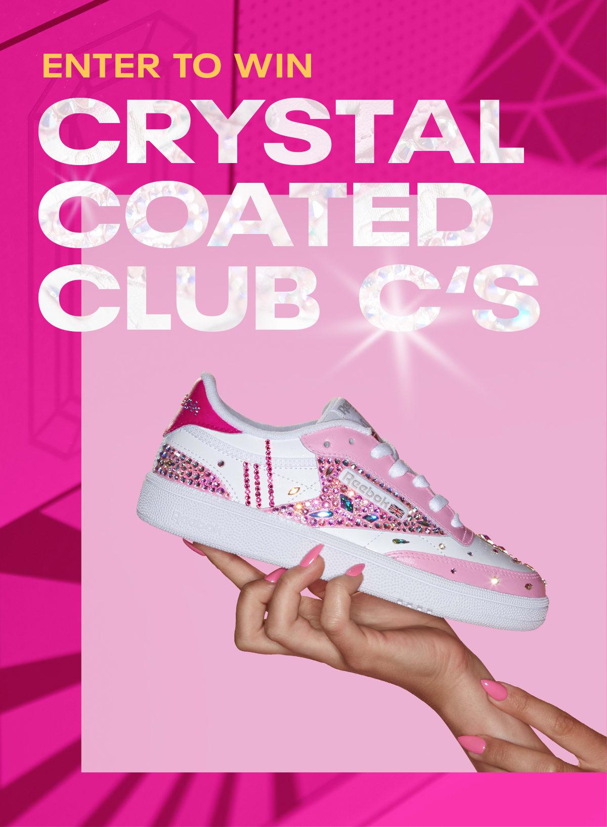 Reebok Crystal Club C's – Enter To Win
