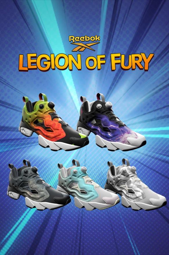 Instapump Fury Collection | Reebok US