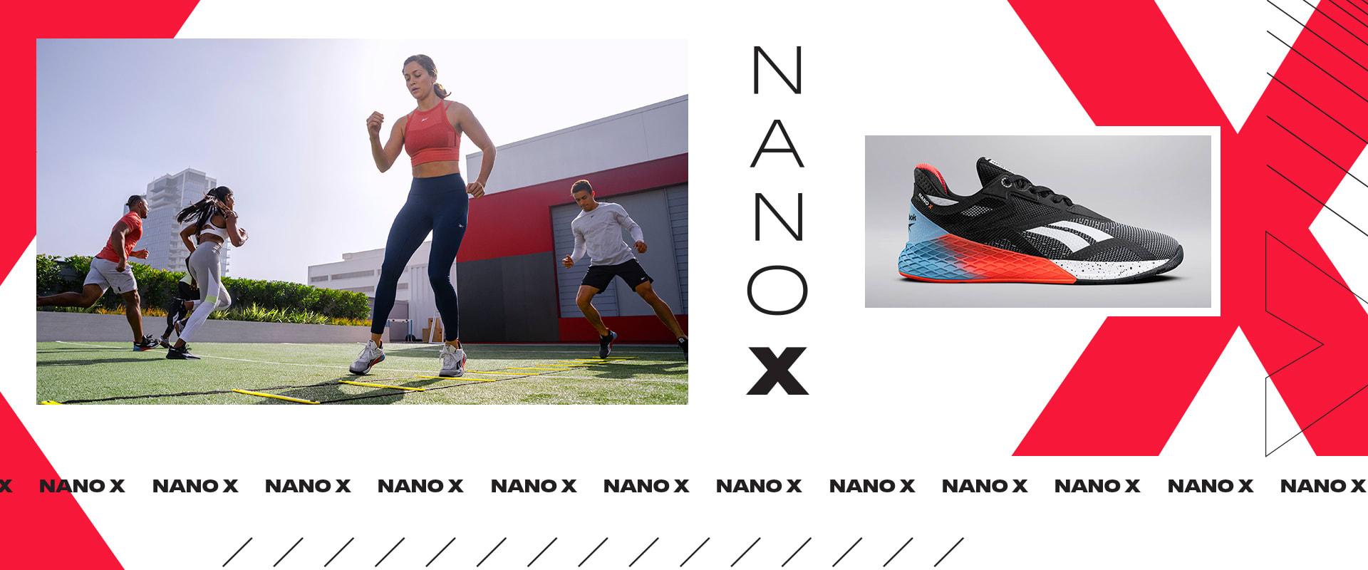 Reebok crossfit nano 4.0 Cross fit Fitness Gym Training zapato rojo zapatos talla 36
